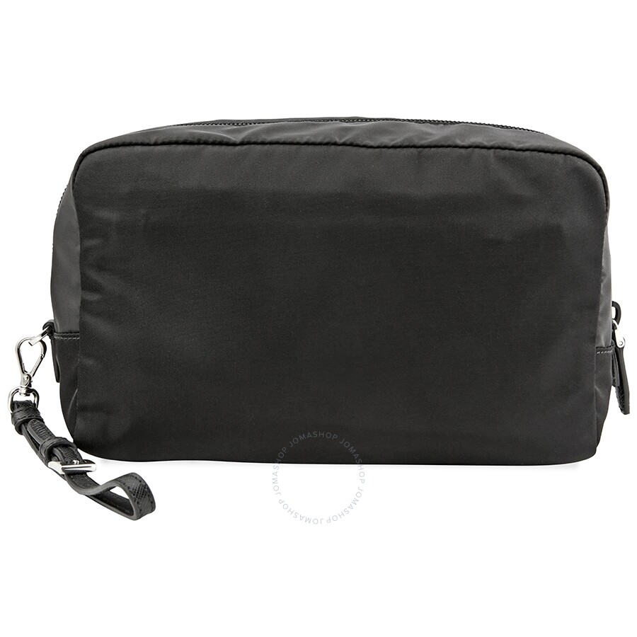 3fdc0041d5f2 Prada Nylon Cosmetic Case- Black - Prada - Handbags - Jomashop