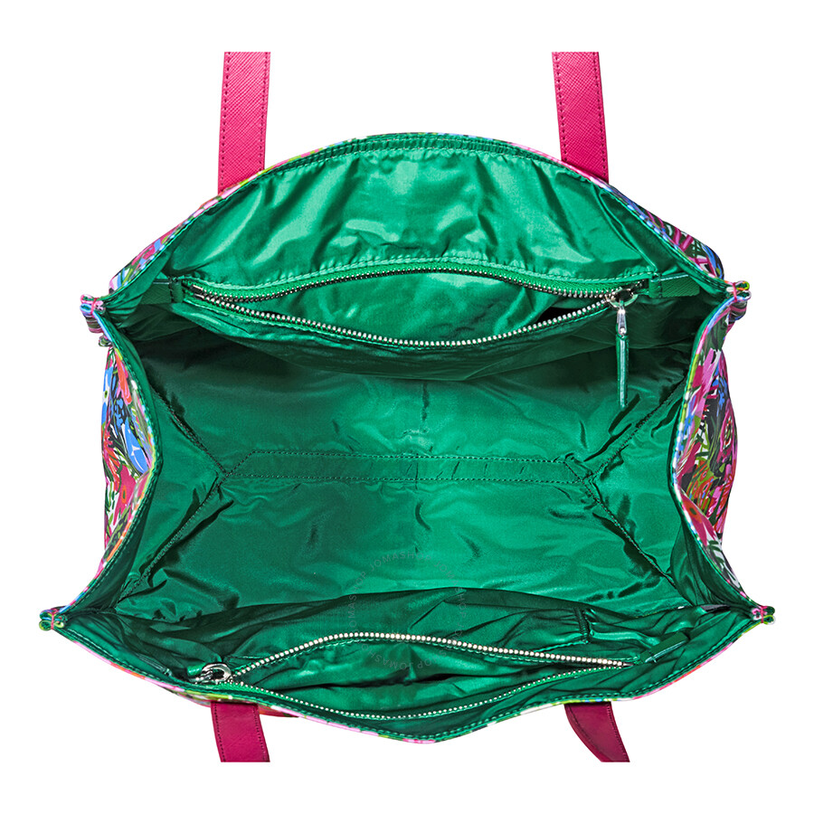 bccc93241 Prada Nylon Floral Tote-Pink/Multi - Prada - Handbags - Jomashop