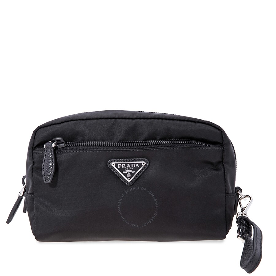 362b10252838 Prada Nylon Pouch-Black - Prada - Handbags - Jomashop