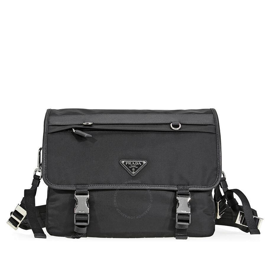 e8d2e30eb1ee Prada Nylon Shoulder Bag - Black Item No. 2VD009_973_F0002_V_OOO