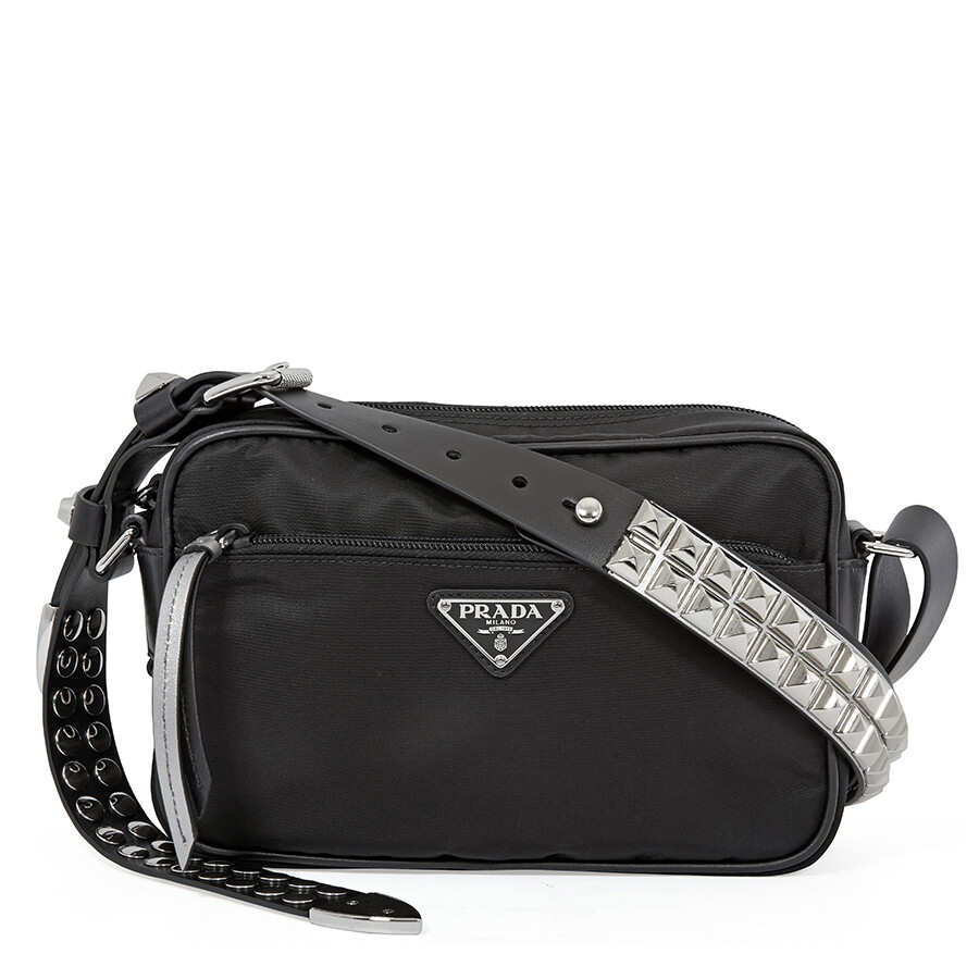 9523d10da62f Prada Nylon Shoulder Bag- Black Item No. 1BC167 2BYB TBO F0H0S