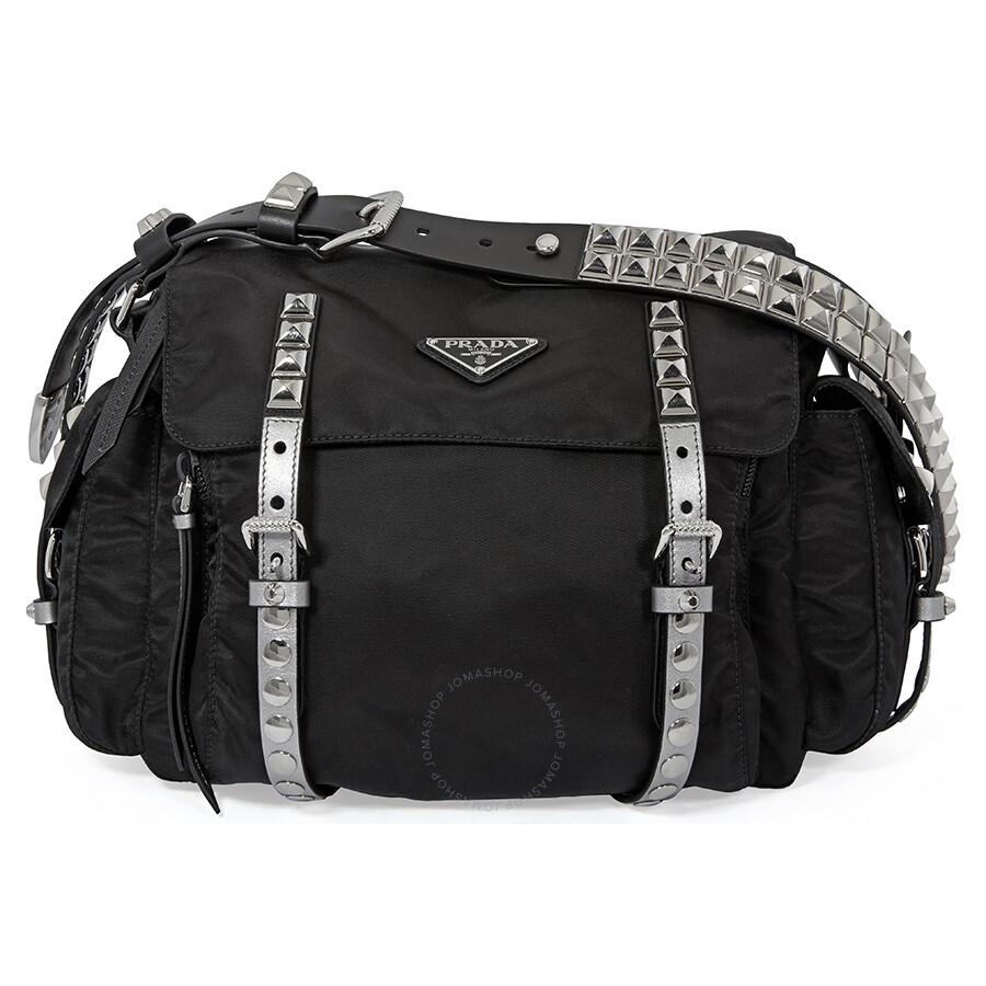620d22facebe Prada Nylon Shoulder Bag- Black Item No. 1BD118 F0H0S 2BYB V TBO