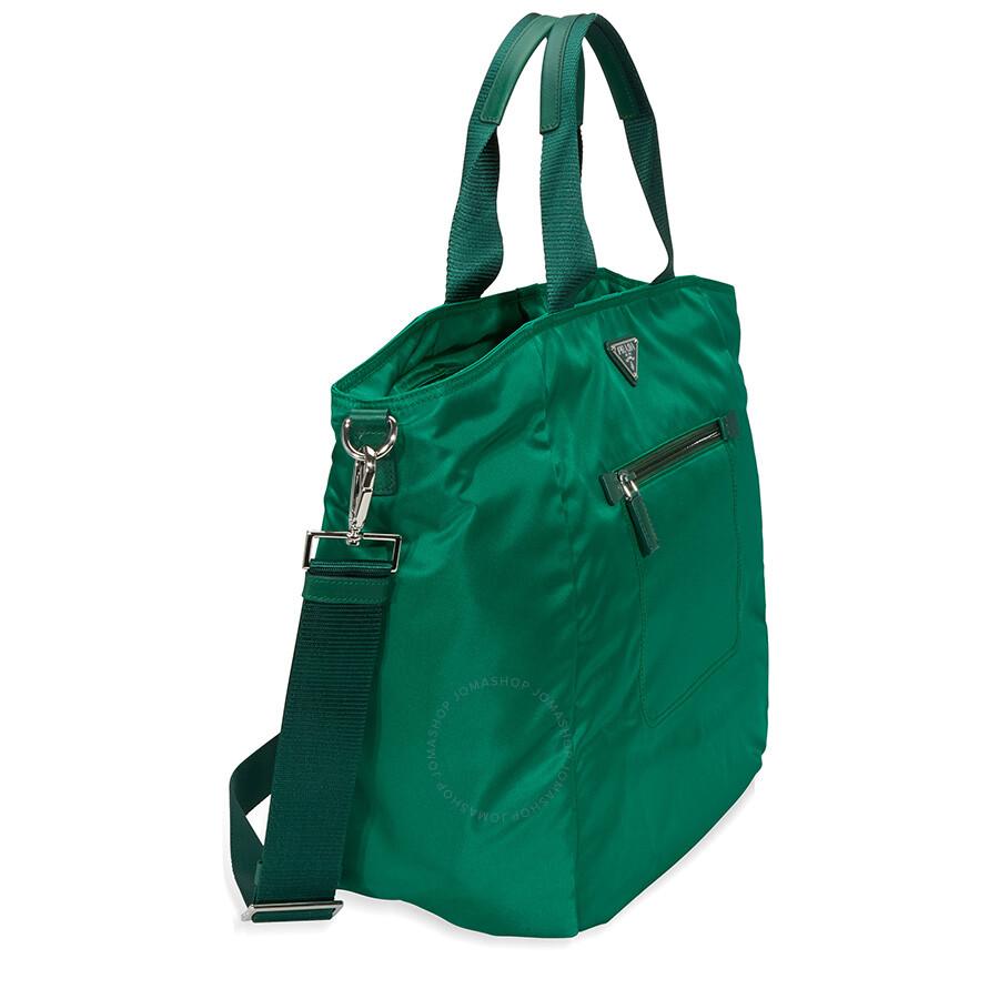 95259399aad6 Prada Nylon Tote Bag - Oleandro - Prada - Handbags - Jomashop