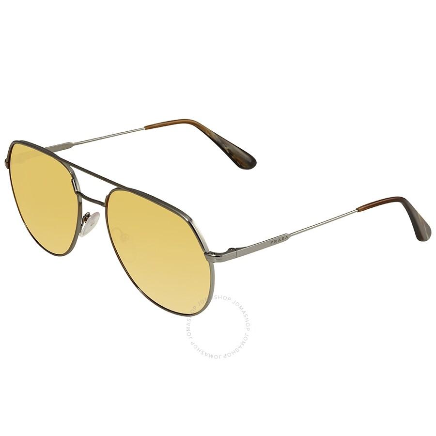 b090327a8cc93 Prada Aviator Men s Sunglasses PR 55US 5AV0B7 57 - Prada ...