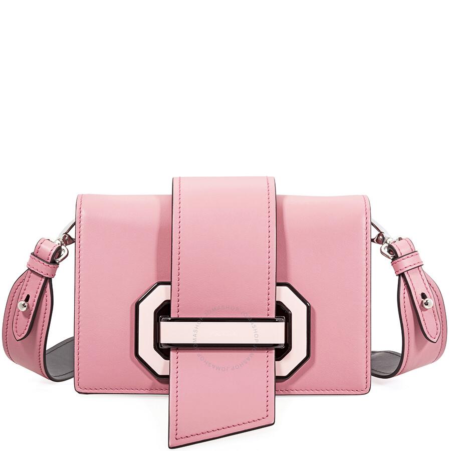 Prada Plex Ribbon Shoulder Bag Pink