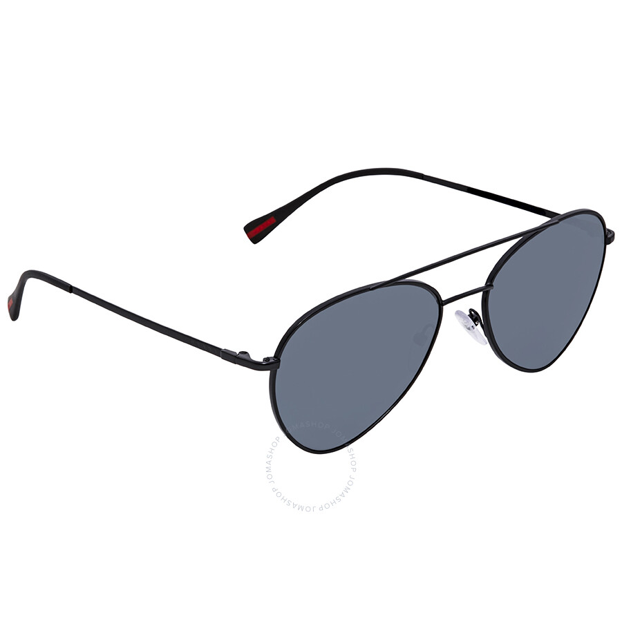 8d6ae48a7ae7 Prada Polarized Grey 57mm Aviator Sunglasses PS 50SS 1BO5Z1 57 ...