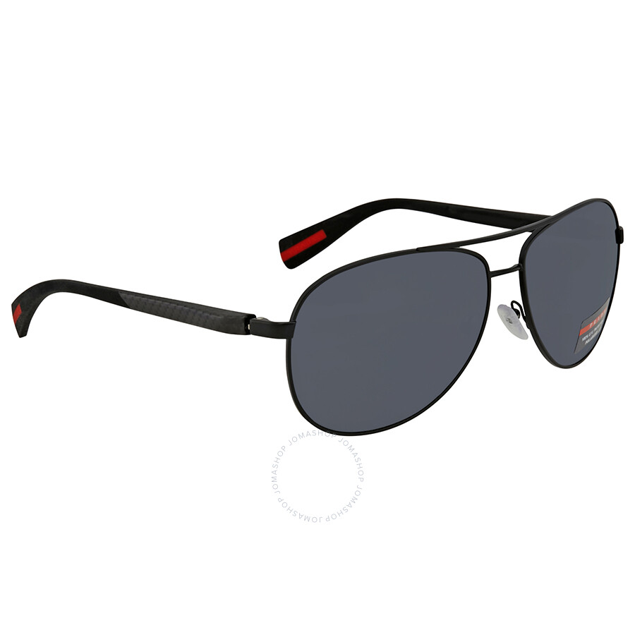 05fa2e5dce852 Prada Polarized Grey Aviator Men s Sunglasses PS51OS-1BO5Z1-62 ...