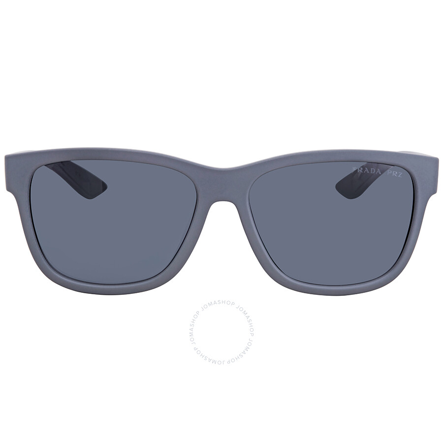 b42a09801005 ... Prada Polarized Grey Square Men's Sunglasses PS03QSF-UFK5Z1-59 ...