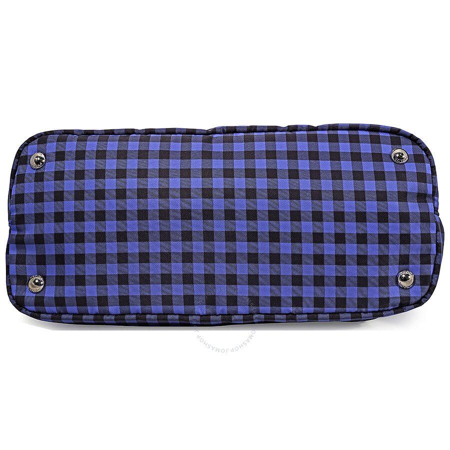 afacc30cb59c Prada Printed Nylon Tote - Bluette Vichy - Prada - Handbags - Jomashop