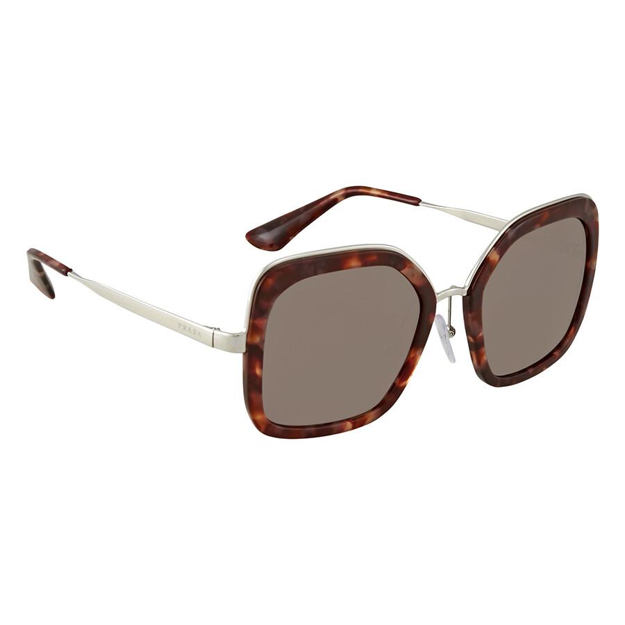 3b2da65255a5 Prada Square Ladies Sunglasses PR 57US UE06X1 - Prada - Sunglasses ...