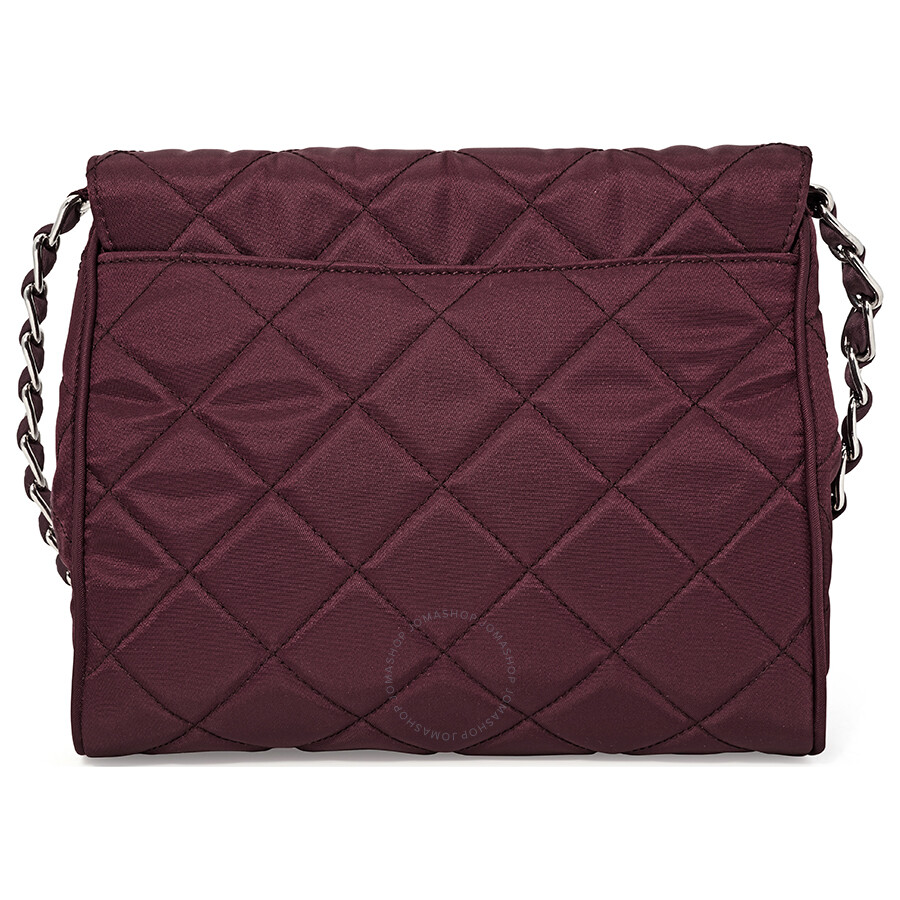b0d6ec1fb378 Prada Quilted Shoulder Bag - Garnet | Stanford Center for ...