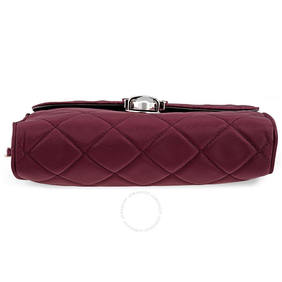 db70bf0214e4 Prada Quilted Shoulder Bag - Garnet - Prada - Handbags - Jomashop