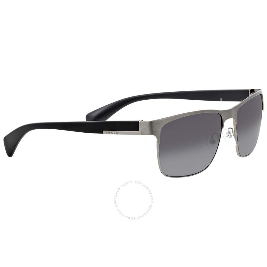 9c7dfc2f9 Prada Rectangle Polarized Grey Gradient Sunglasses - Prada ...
