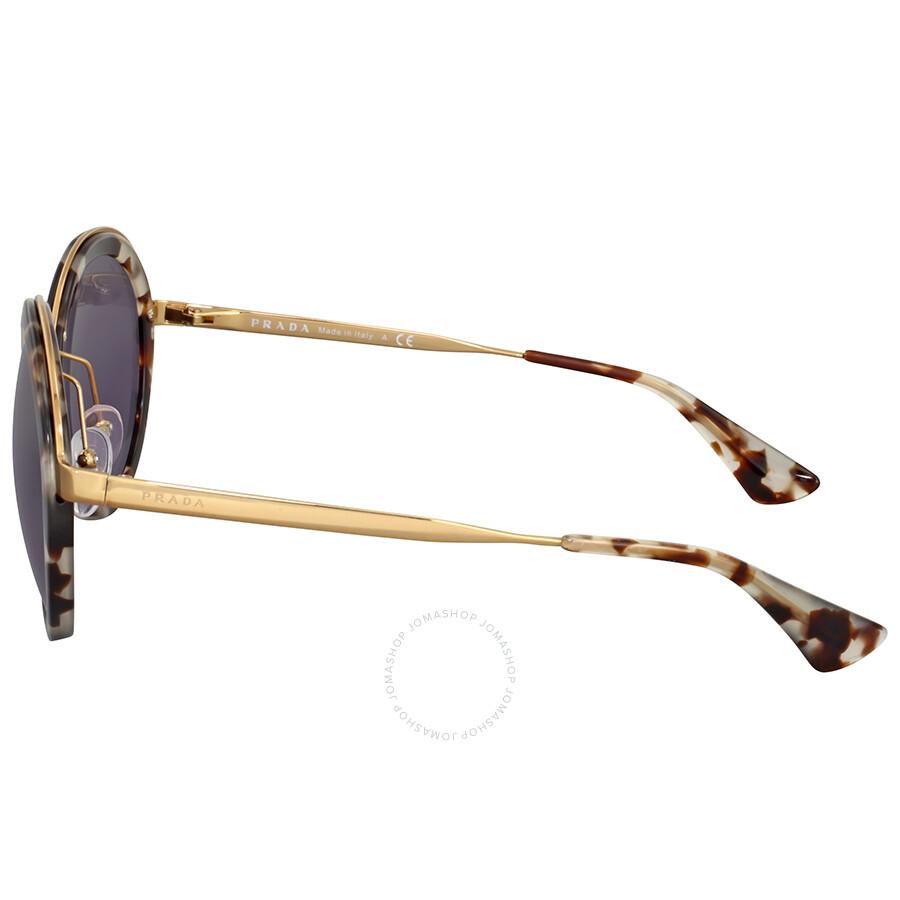 bacde5d6 Prada Cinema Round Havana Sunglasses