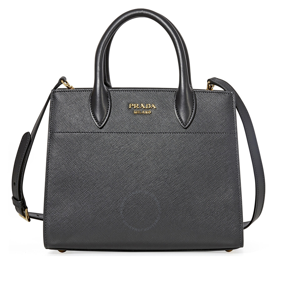 8bd840788865 Prada Saffiano Calf Leather Crossbody Bag- Black Item No. 1BA050 2EVU F0967