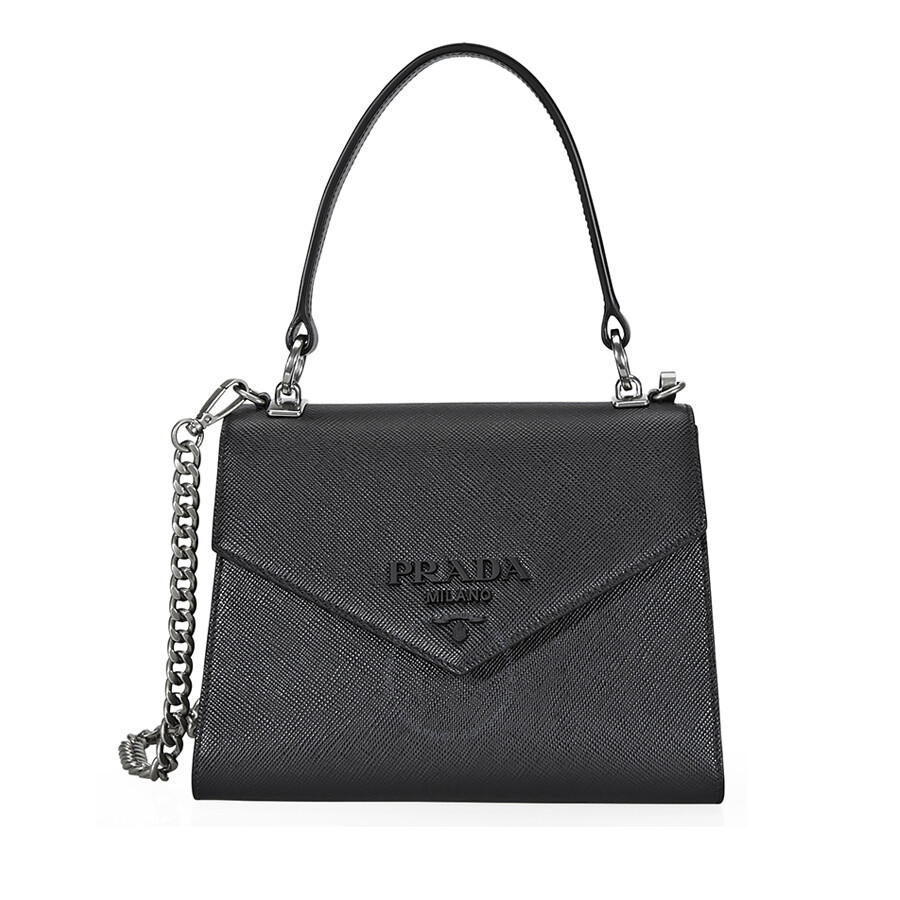 e7f565d22b ... discount code for prada saffiano leather shoulder bag black bc789 96695
