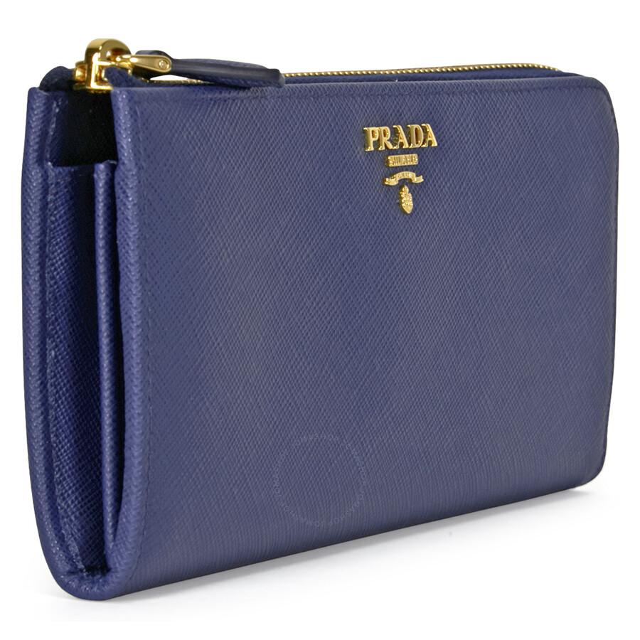 Prada Wallet Saffiano Leather