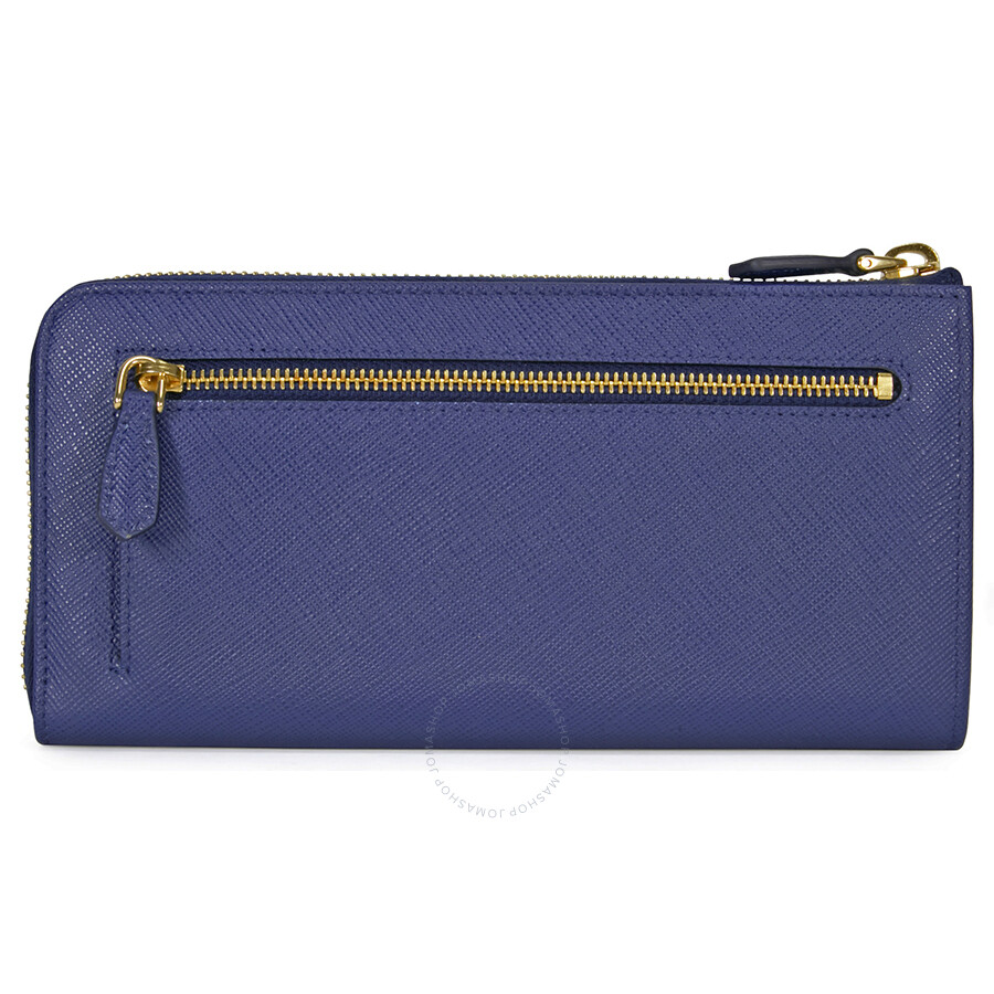 c68a1df465dc Prada Saffiano Leather Wallet - Bluette - Saffiano - Prada ...