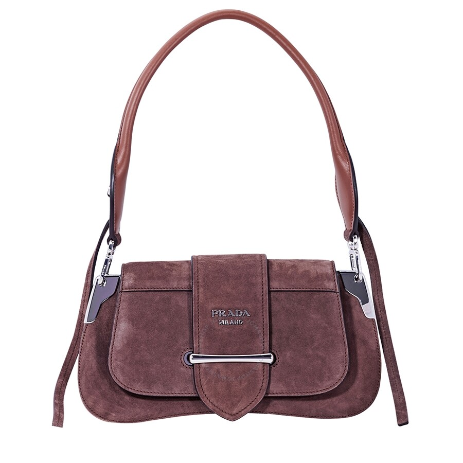 75bffc96bb4f Prada Sidonie leather Shoulder Bag - Prada - Handbags - Jomashop
