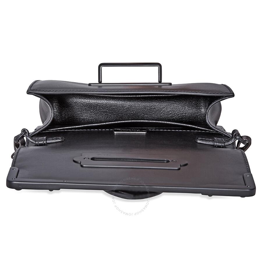 1ca63f7912 Prada Small Leather Crossbody Bag- Black - Prada - Handbags - Jomashop