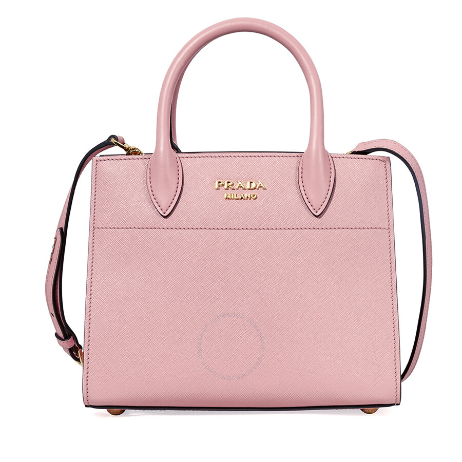 Prada Small Saffiano Calf Leather Crossbody Bag Pink. Prada Light Pink  Galleria ... a83609854ba4a