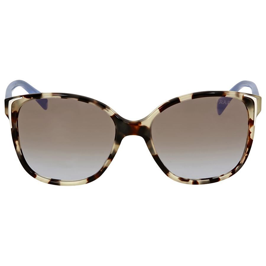 Spotted Square Brown Prada Opal Sunglasses thQdrsC