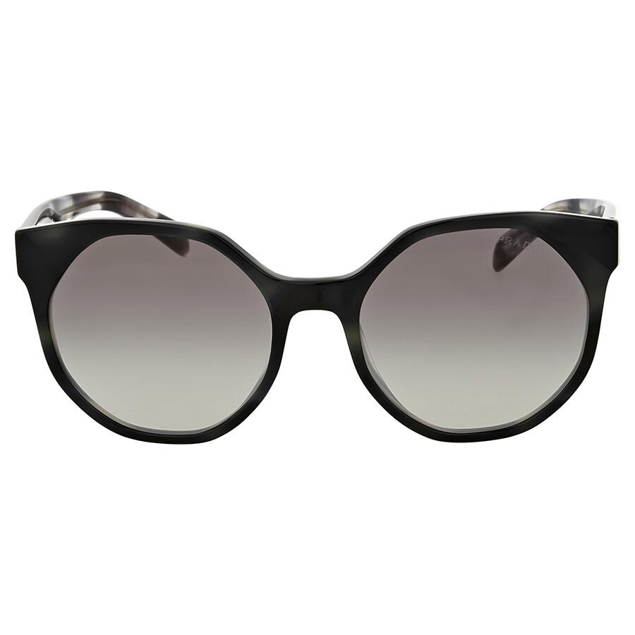 537ec3bb170dc Prada Striped Grey Gradient Sunglasses - Prada - Sunglasses - Jomashop
