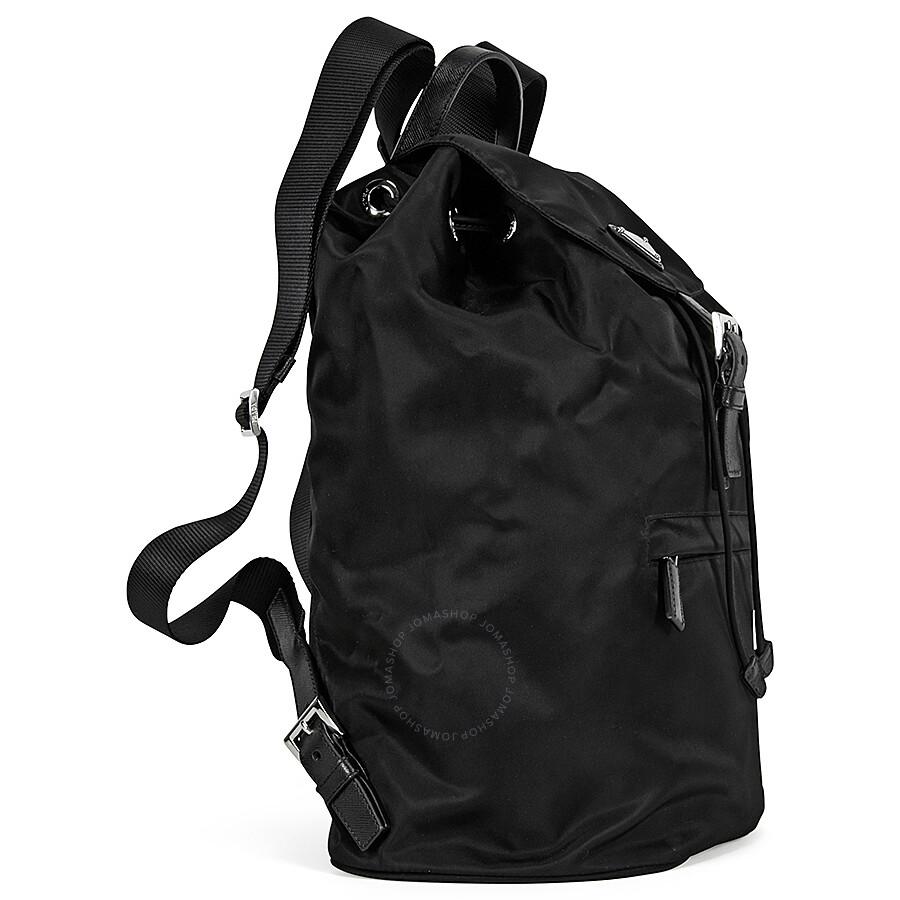 e5299f181f1d9b Prada Vela Nylon Backpack - Black Prada Vela Nylon Backpack - Black ...