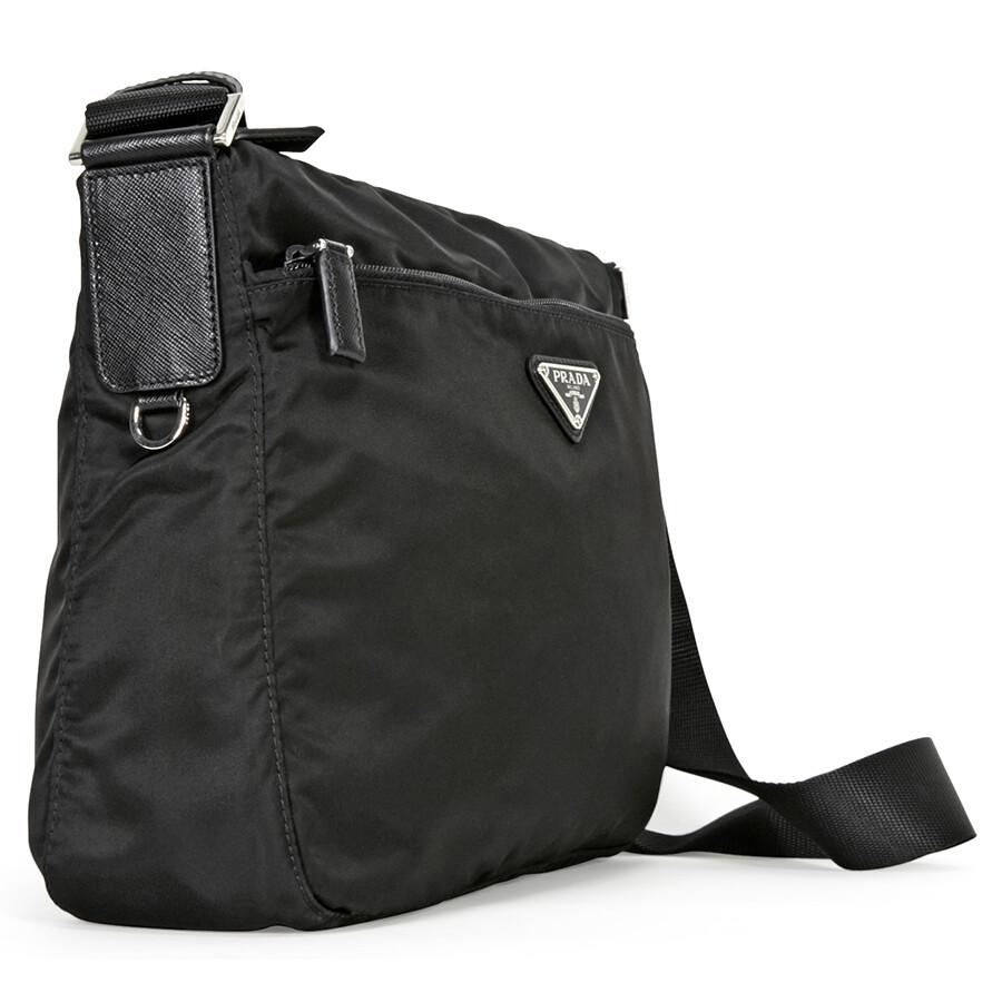 14297de75af11c Prada Vela Nylon Shoulder Bag - Black - Vela - Prada - Handbags ...