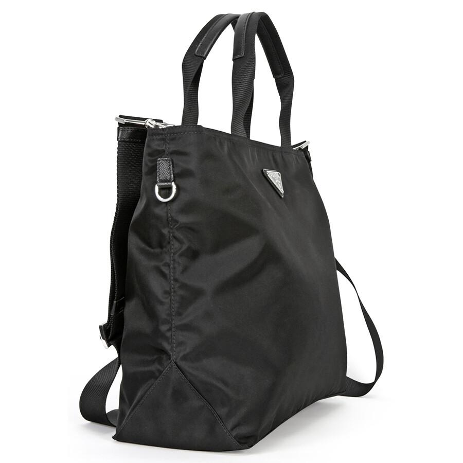 0c5f6ffa1163 ... shop prada vela nylon tote black 9d785 49497
