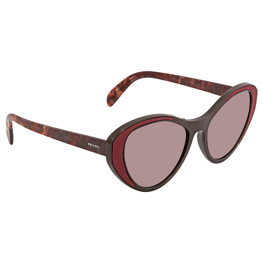 bf45a814e8f7 Prada Violet Cat Eye Ladies Sunglasses PR 14US YEO6X1 55 - Prada ...