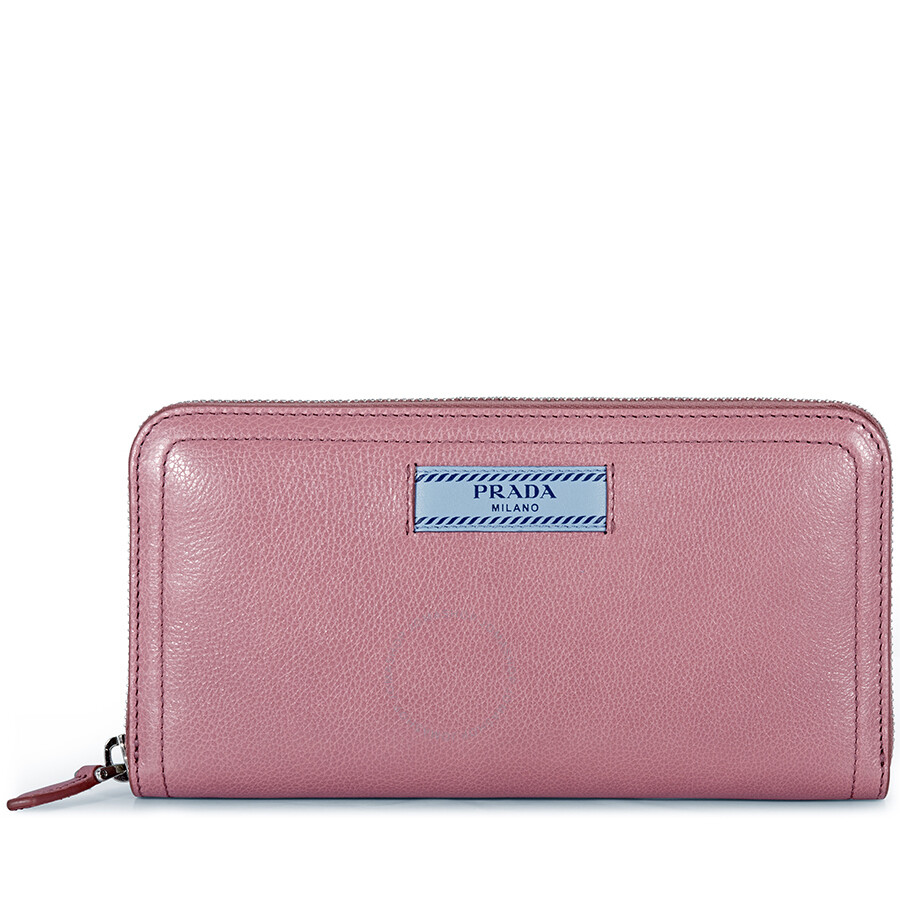 d546ffe93418a5 Prada Zip Around Leather Wallet | Stanford Center for Opportunity ...