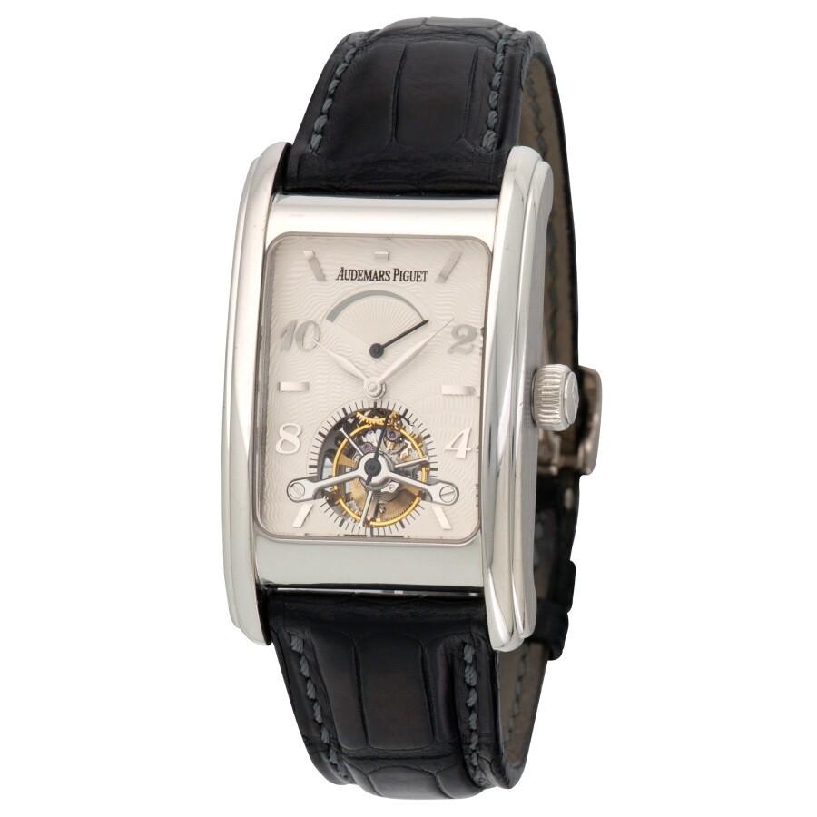 Pre Owned Audemars Piguet Edward Piguet Tourbillon Hand Wind Men S Watch 26006bc Oo D002cr 01