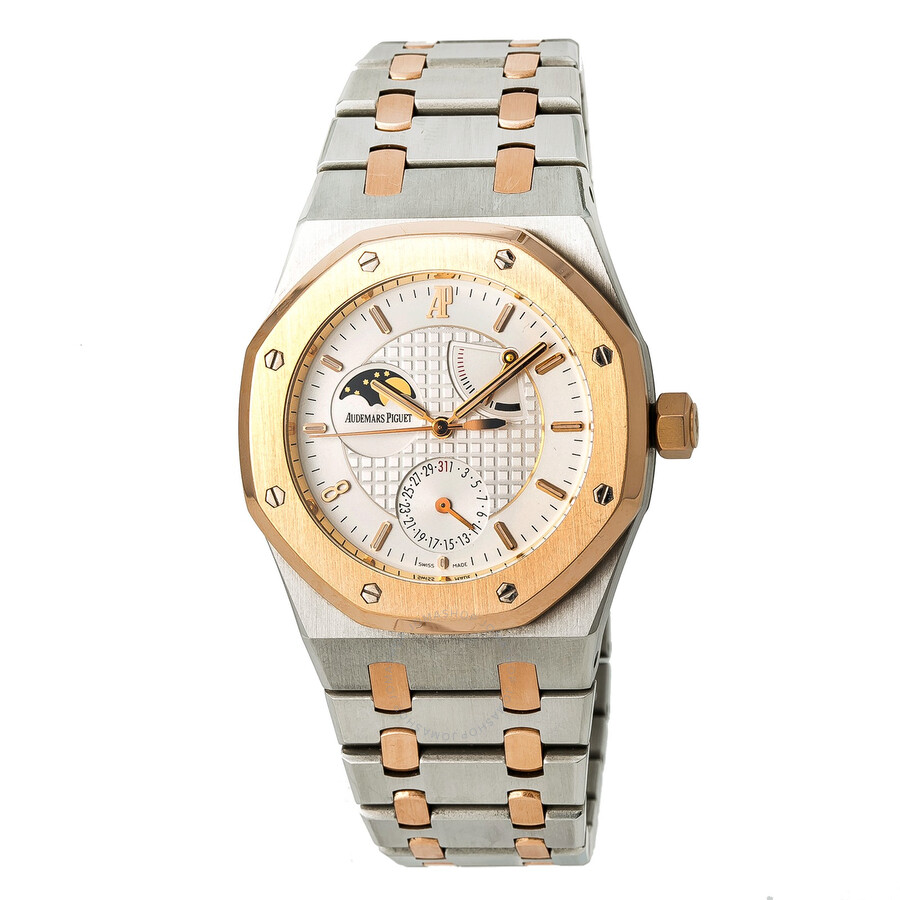 Pre Owned Audemars Piguet Royal Oak Automatic Champagne Dial Men S Watch 26168sr Oo