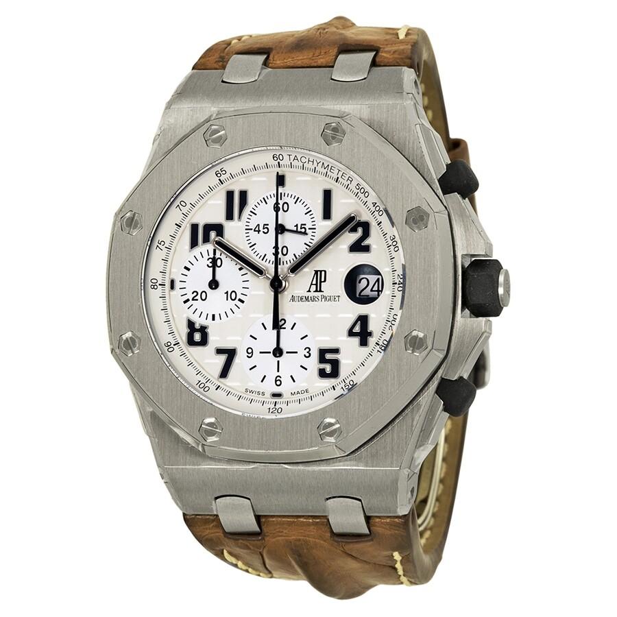 Pre Owned Audemars Piguet Royal Oak Offs Chronograph Men S Watch 26170st Oo D091cr