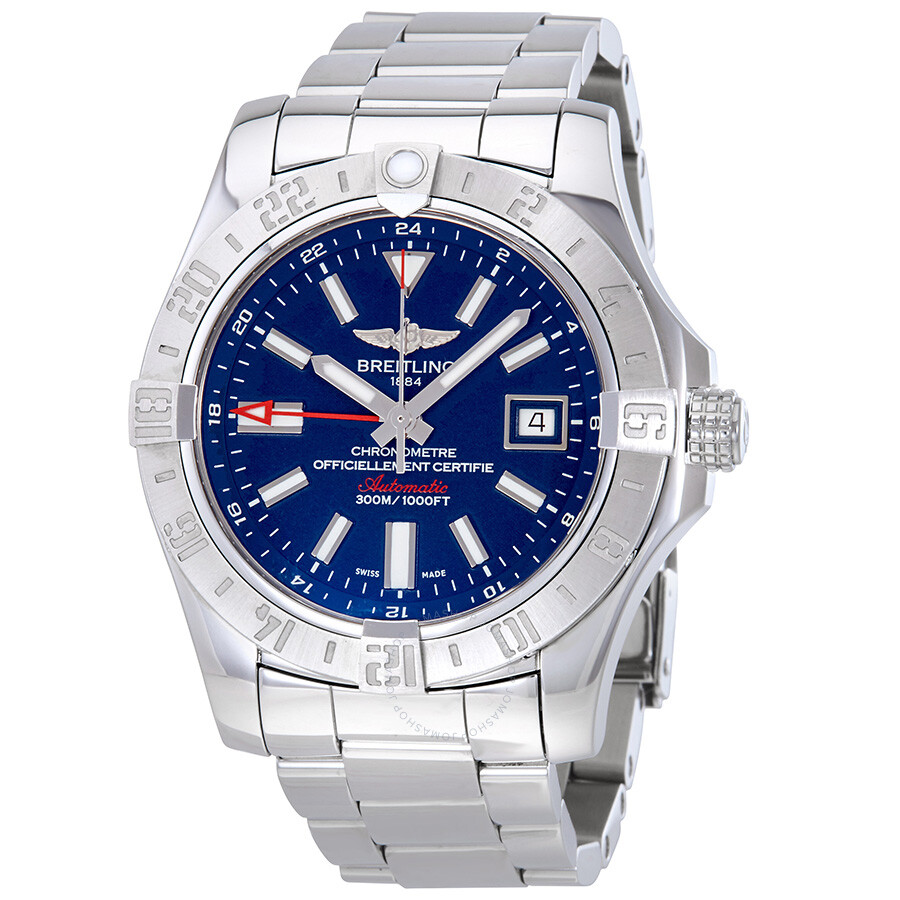 quality design 3cf8c 2dfe8 Pre-owned Breitling Avenger II GMT Automatic Men's Watch A3239011-C872SS