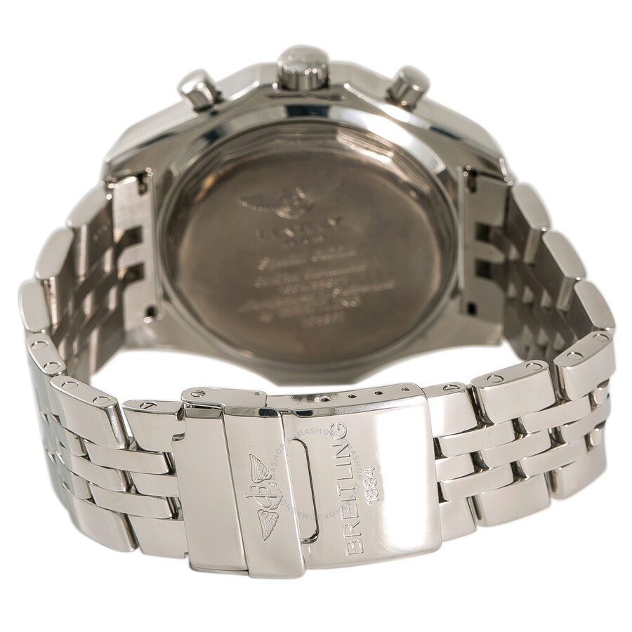 5a364b11e8a8 Pre-owned Breitling Bentley Chronograph Automatic Silver Dial Men s Watch  A25362