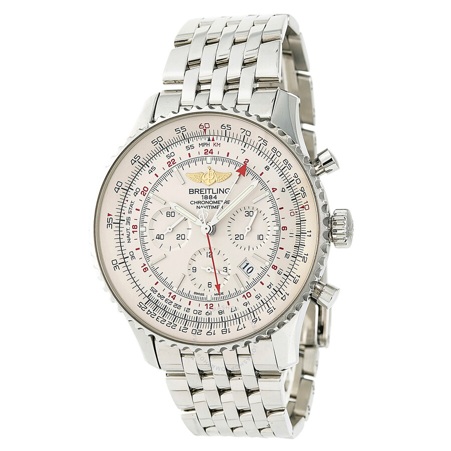Pre Owned Breitling Navitimer Chronograph Automatic Chronometer Men S Watch Ab0441