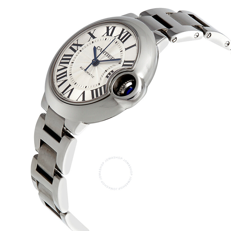 289803f666a ... Pre-Owned Cartier Ballon Bleu Automatic Silver Dial Ladies Watch  W6920071 ...