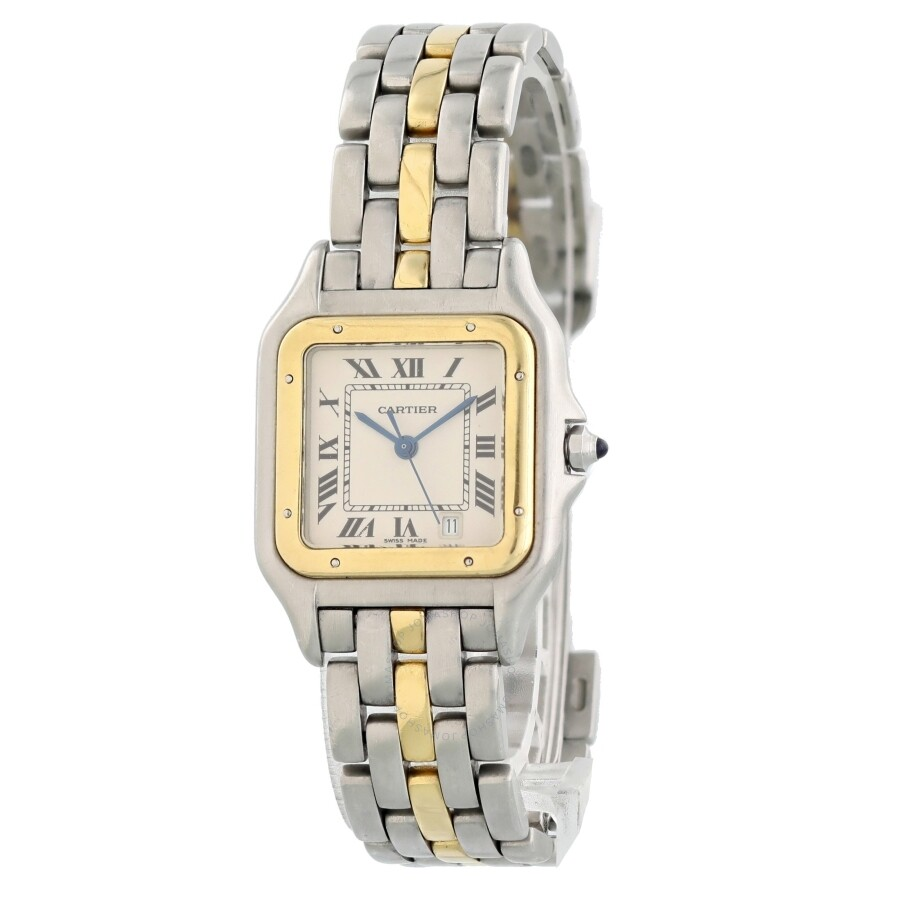 875b5bae002 Pre-owned Cartier Panthere Quartz White Dial Ladies Watch 183949 ...