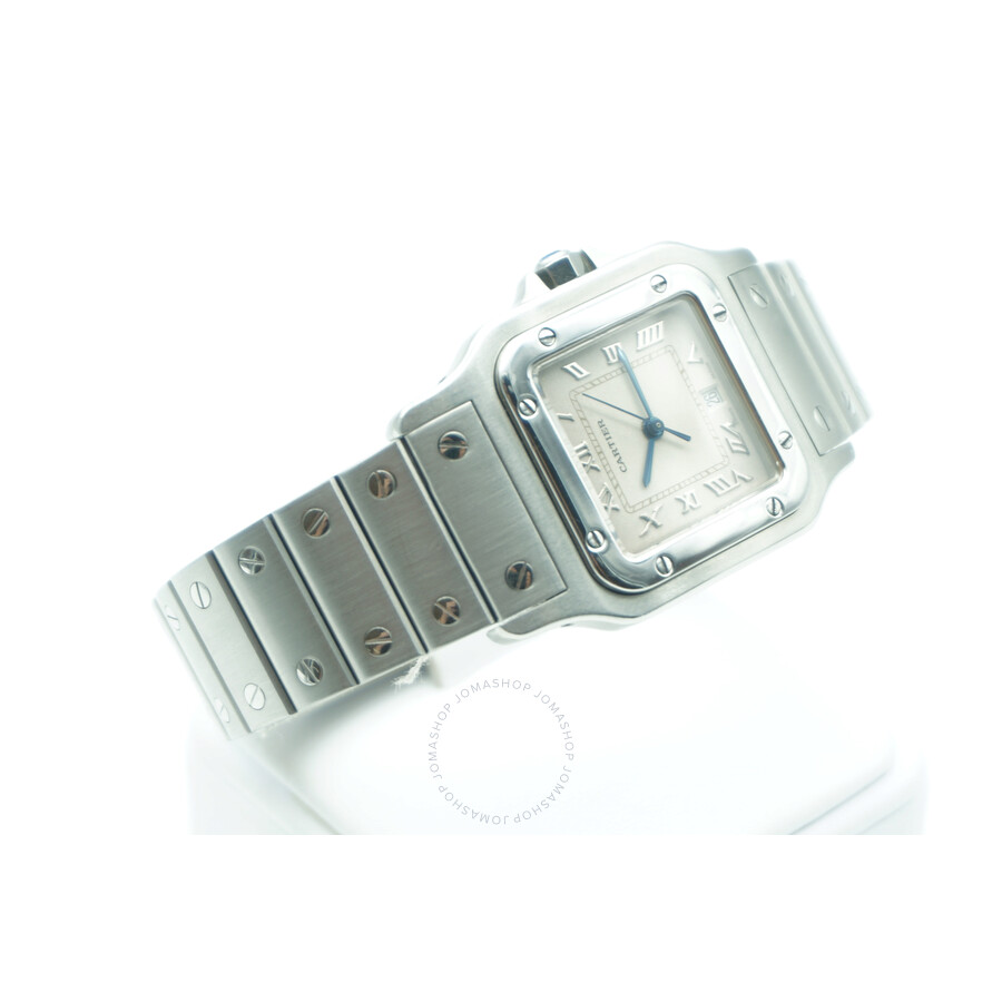 324d63ad2ede Pre-owned Cartier Santos Galbee White Dial Ladies Watch 1564 ...