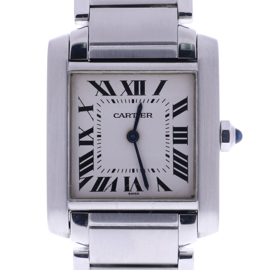 3ff1b0924f4 Pre-owned Cartier Tank Francaise Ladies Watch 2301 - Cartier - Pre ...