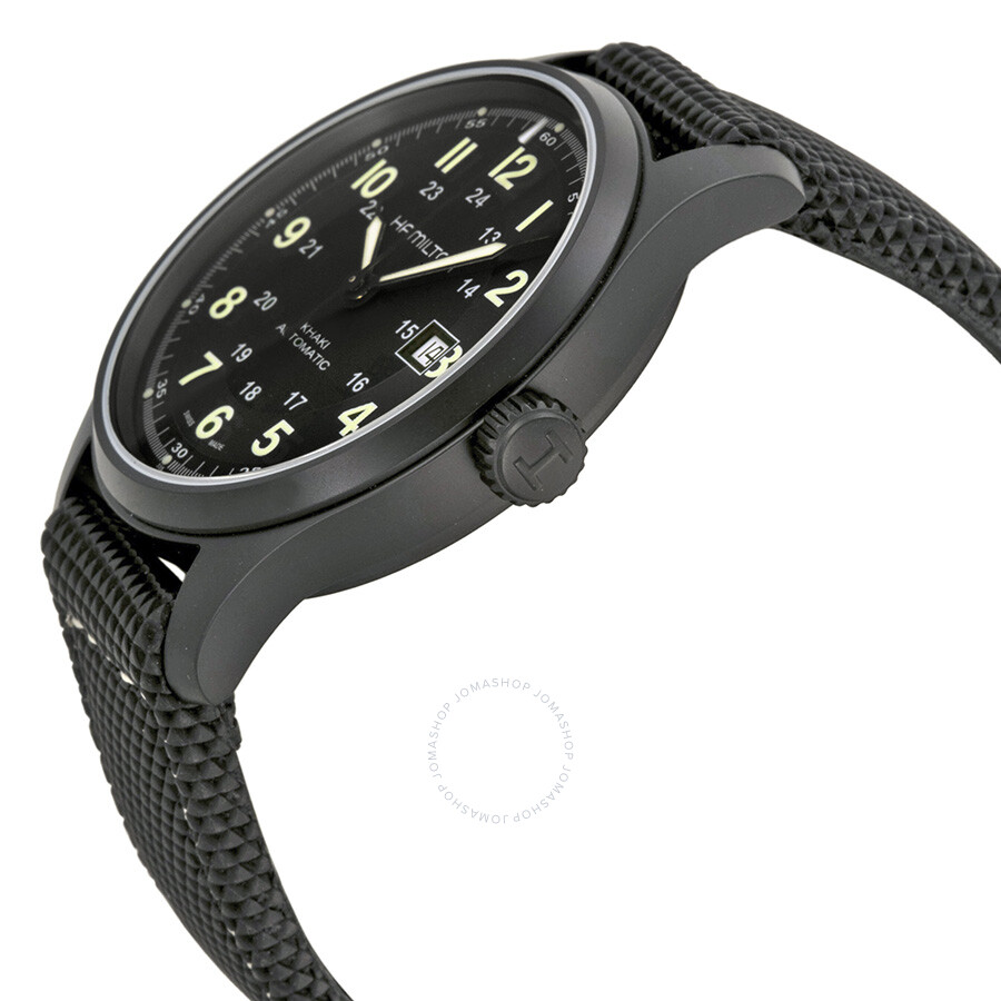 2c06754f0ed ... Pre-owned Hamilton Khaki Field Titanium Men s Watch H70575733 ...