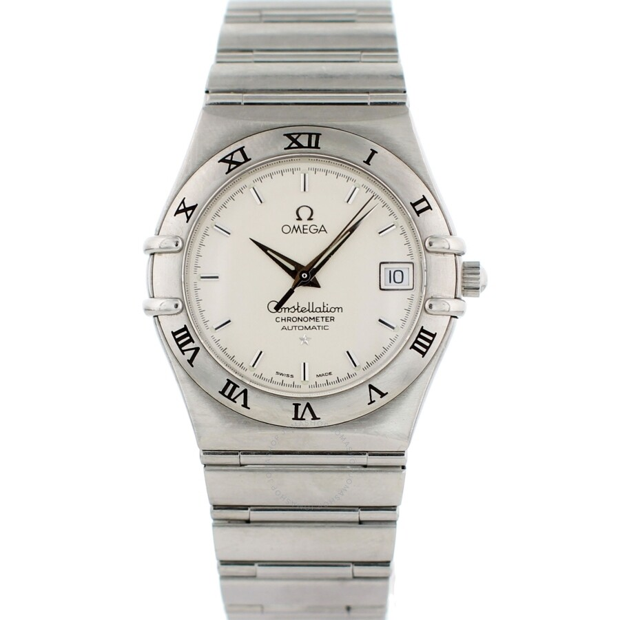 b505a69c63241 Pre-owned Omega Constellation Automatic Chronometer White Dial Men s Watch  368.1201