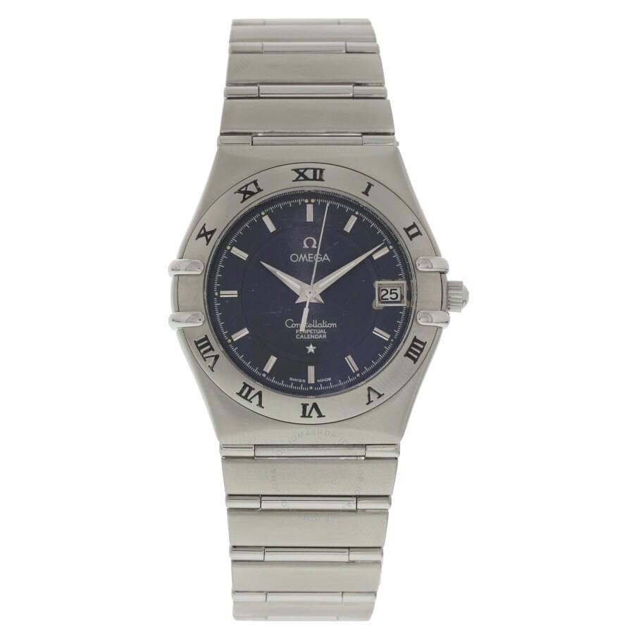 8b6a2e80e94f8 Omega Pre-owned Constellation Quartz Black Dial Men s Watch Item No. 396  1202