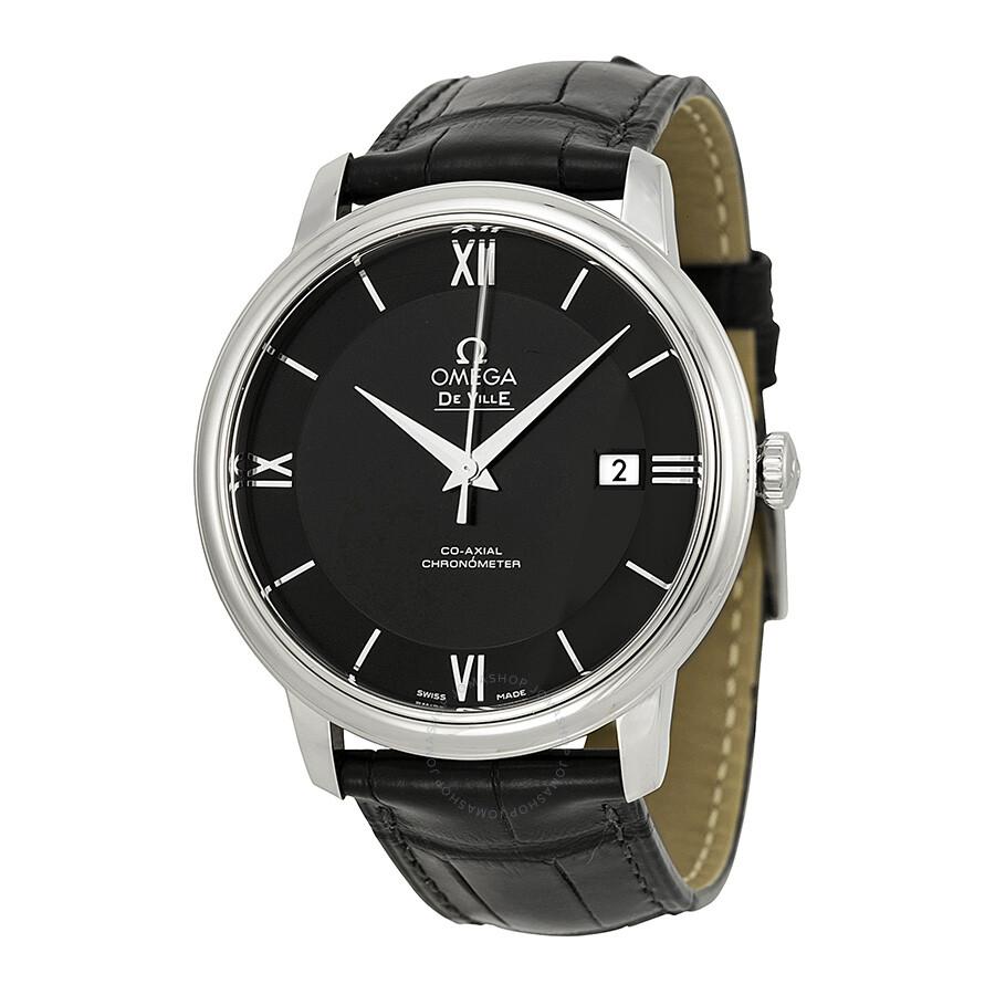 af41bd484db7 Pre-owned Omega DeVille Prestige Automatic Men s Watch 424.13.40.20.01.001  ...