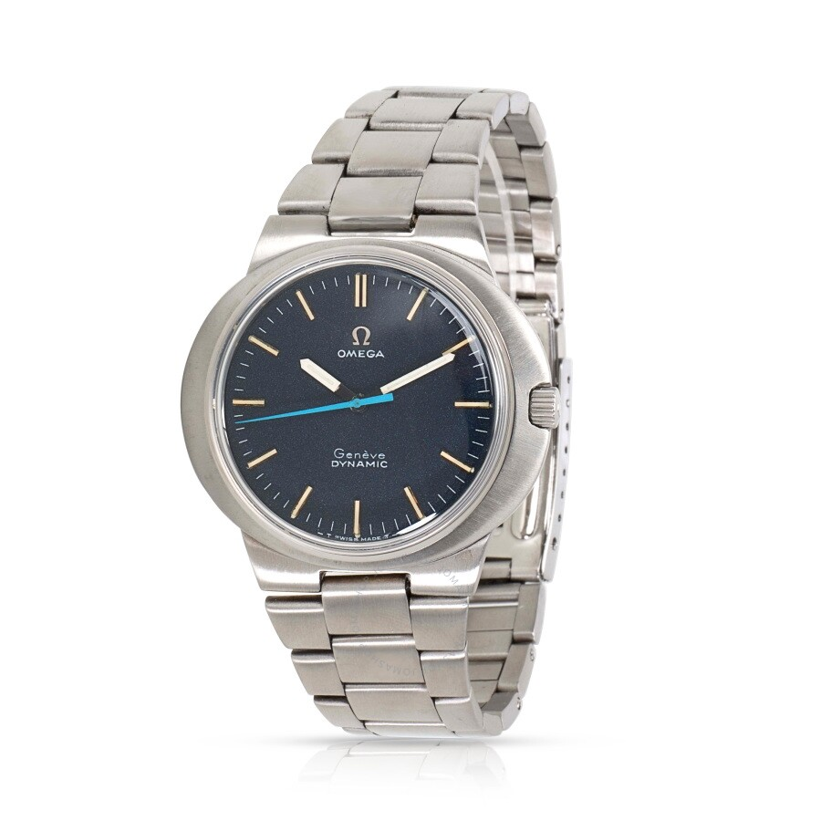 Pre-owned Omega Dynamic Blue Dial Men's Watch ST 135 033