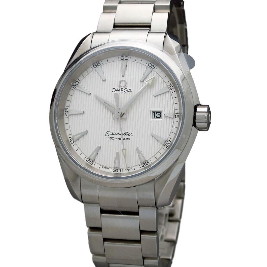Pre Owned Omega Seamaster Aqua Terra Chronometer White
