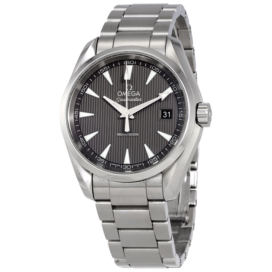 Pre Owned Omega Seamaster Aqua Terra Grey Dial Men's Watch 231.10.39.60.06.001