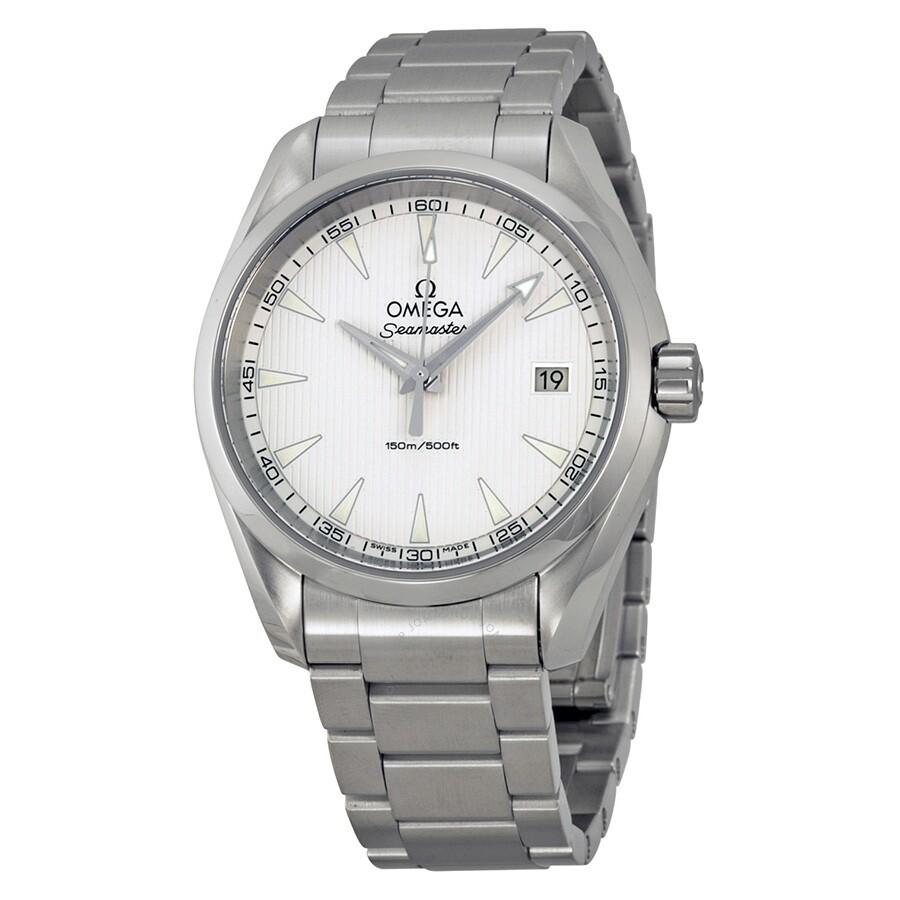 d35019b4a408 Pre-owned Omega Seamaster Aqua Terra Men s Watch 23110396002001 ...